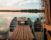tambopata sandoval lake lodge amazon green