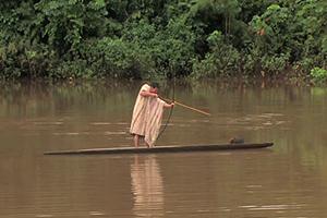 Peru Amazon Native sandoval lake lodge