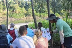 maloka sandoval lake lodge rainforest expeditions tambopata